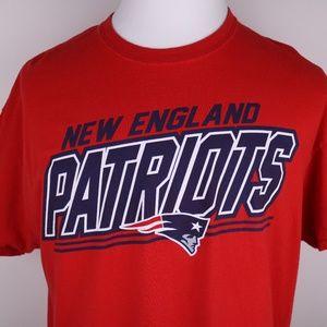 NFL New England Patriots Shirt XL Large Logo Front